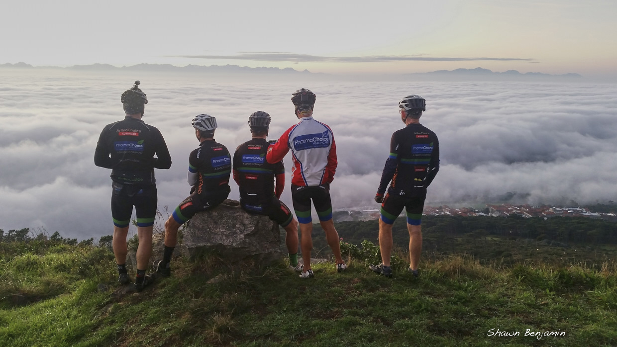 Mountain Biking South Africa (MTB SA) | Table Mountain View with Cloud