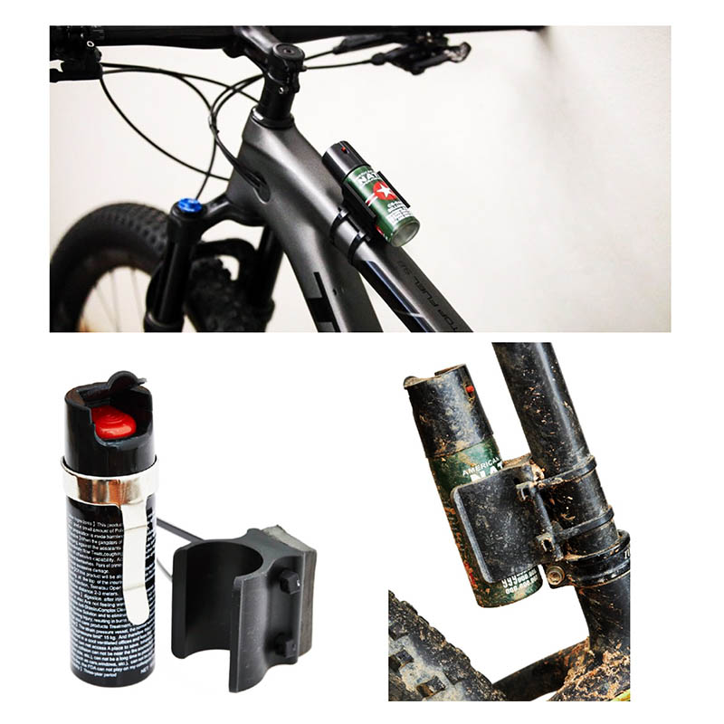 MTB South Africa (MTB SA) / Enduro Seal | Safety / Security Pepper Spray With Mount - Mountain Biking / Cycling