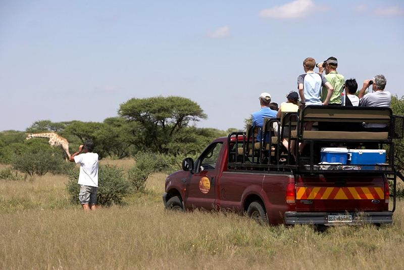 MTB South Africa (MTB SA)   Marrick Safari Cycle Trails / Tracks - Game Drive